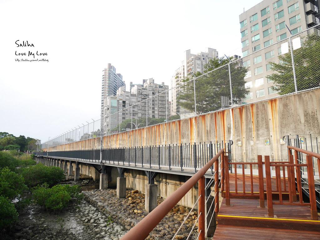 淡水一日遊輕軌附近景點推薦紅樹林生態步道淡水站老街秘境 (3)