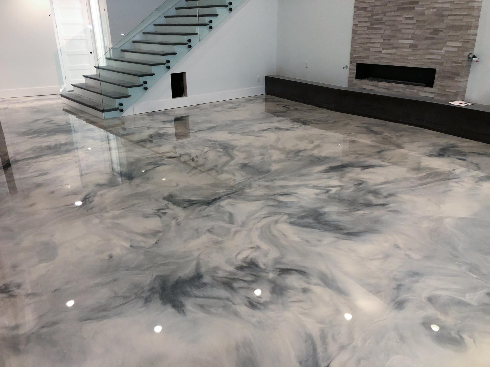 Metallic FX Flooring Epoxy