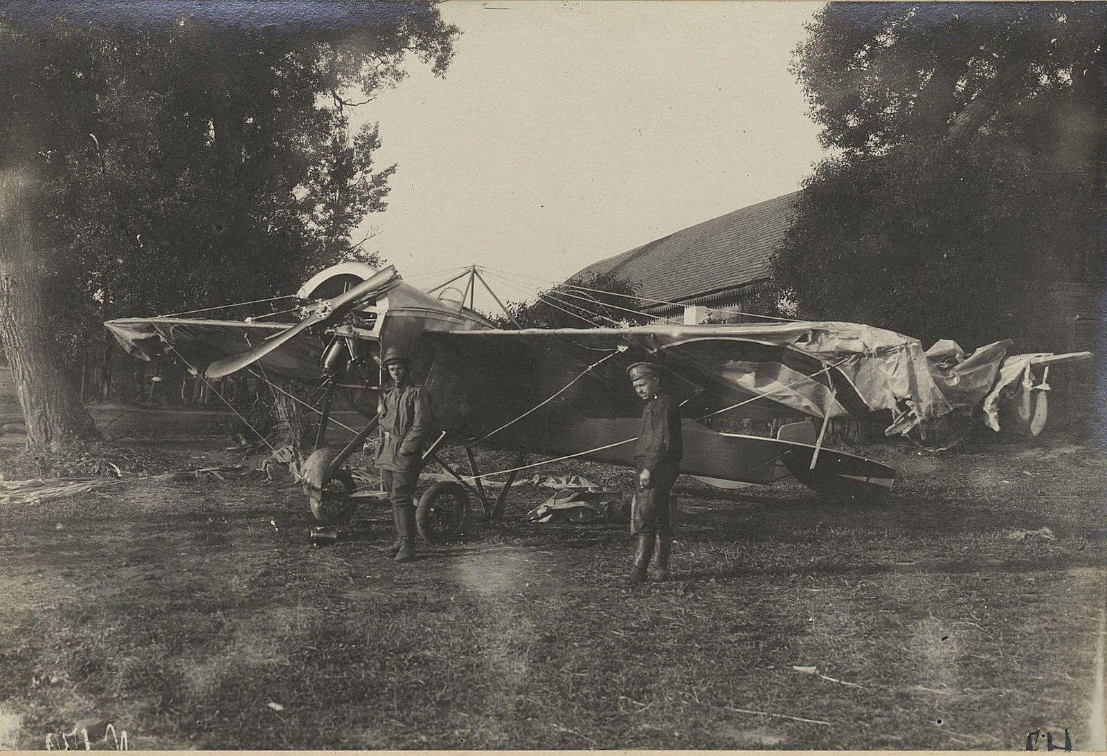 1914-1917. 15-й корпусной авиационный отряд. 5-я армия. Юго-Западный фронт