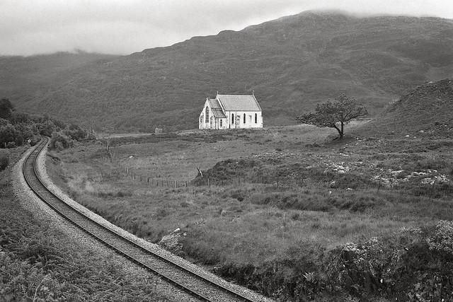Near Glenfinnan, June 1994