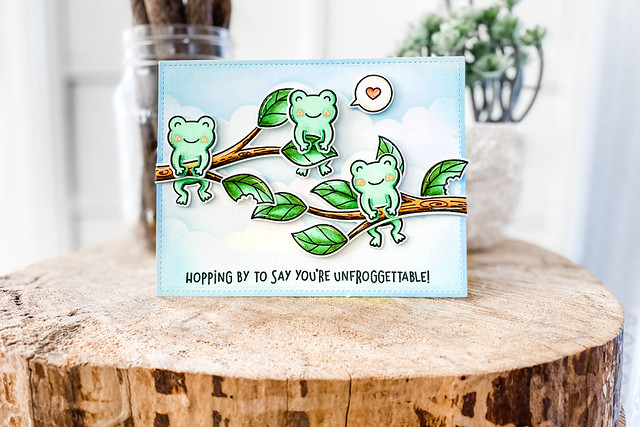 Don't worry, be hoppy (Lawn Fawn inspiration week)