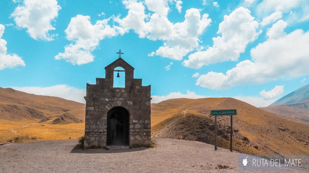 Capilla San Rafael en Piedra del Molino