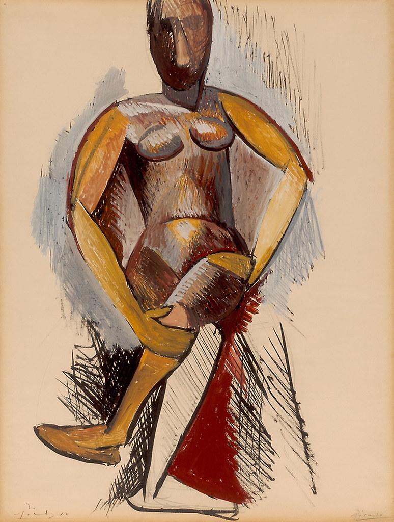 Nu de femme assise (Picasso)