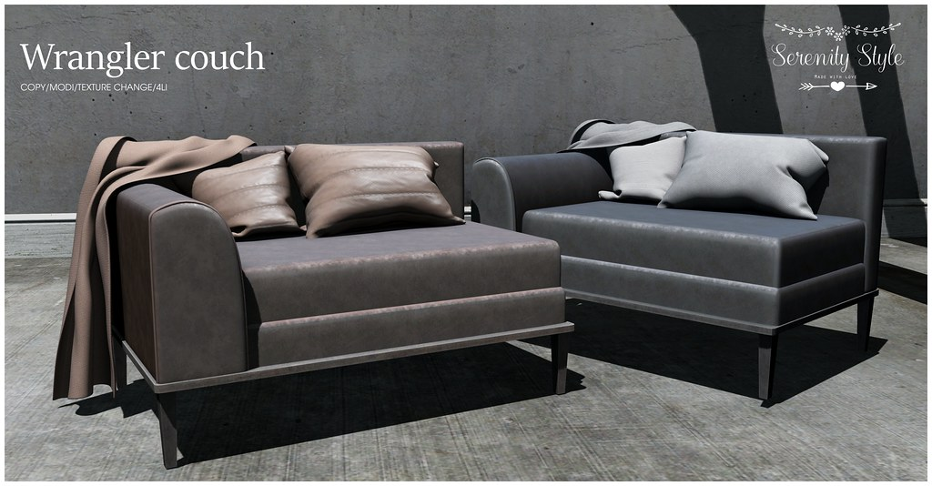 Serenity Style- Wrangler couch ad