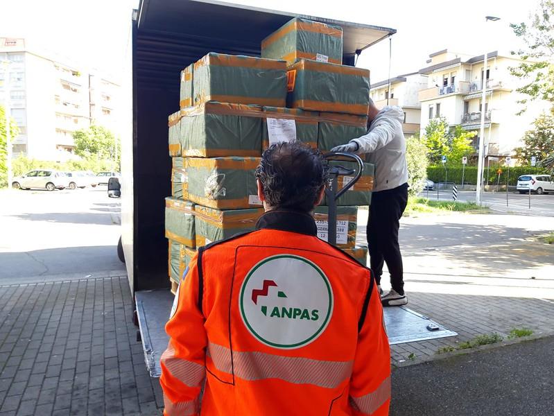 Coronavirus: 100mila mascherine da Anpas per tutti i volontari soccorritori sul territorio