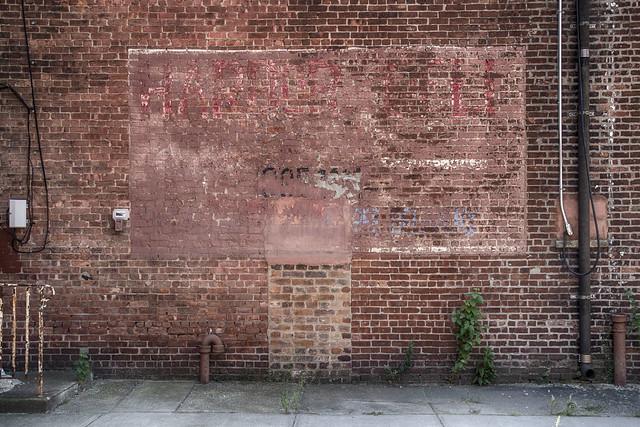 Ghost Sign--Harbor Deli