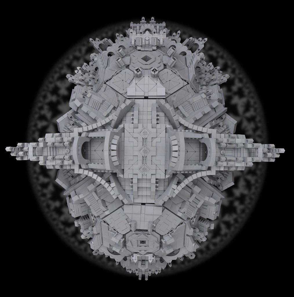 MC Escher - Tetrahedral Planetoid