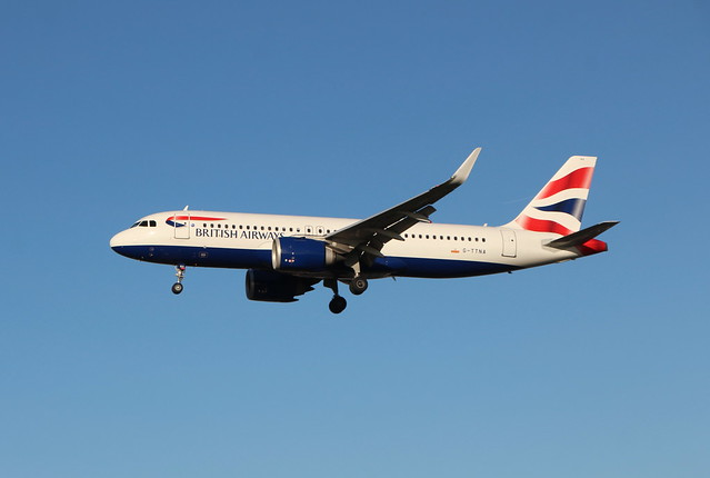 G-TTNA Airbus A320-251N/SL British Airways