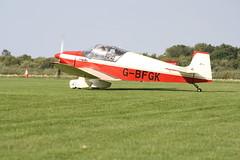 G-BFGK Jodel D.117 [644] Sywell 010918