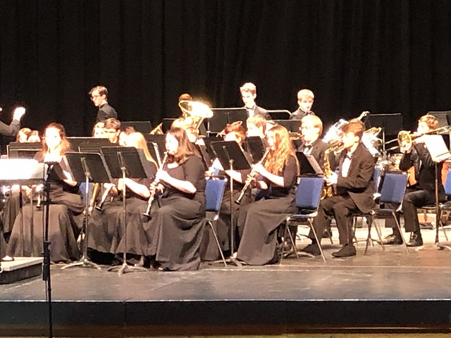 St Helens High School Jazz, Wind Ensemble and Marching Band 2019-2020.
