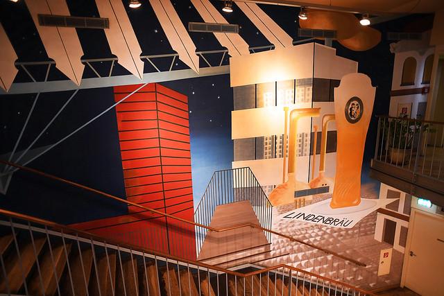 Upstairs at The Lindenbräu