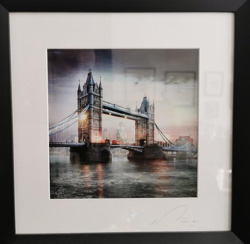 London Bridge with the Gherkin