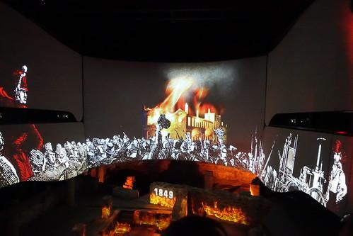 Multimedia Show. From History Comes Alive at Montréal's Pointe-à-Callière