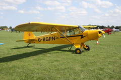 G-BGPN Piper PA-18-150 [18-7909044] Sywell 310818