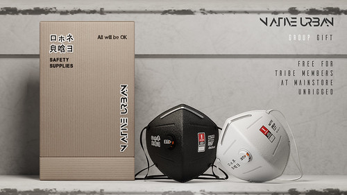 NATIVE URBAN - 2020 Safety Mask GROUP GIFT