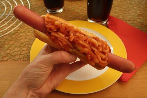 New York Hot Dog (mein erster)