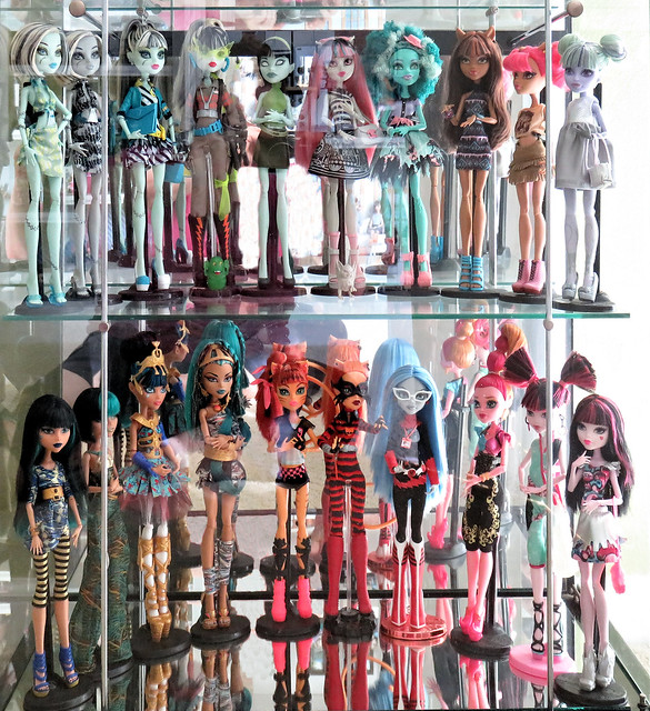 My Monster High Dolls