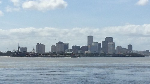 Downtown New Orleans from the Third District Reach Revetment | by cpsnklcx81