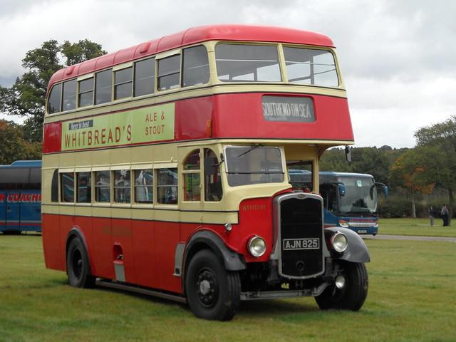 AJN 825 - Bristol K-Type @ Showbus 2019 (1)