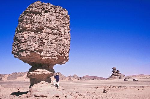 Roca fungiforme - Akkakus (Libia) - 01