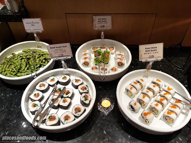 shaburi and kintan buffet bandung sushi
