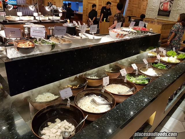 shaburi and kintan buffet bandung salad