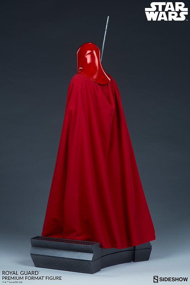 極具威嚴且忠誠的紅色身影來襲! Sideshow Collectibles Premium Format Figure 系列《星際大戰》帝國皇家禁衛軍 Royal Guard 1/4 比例全身雕像