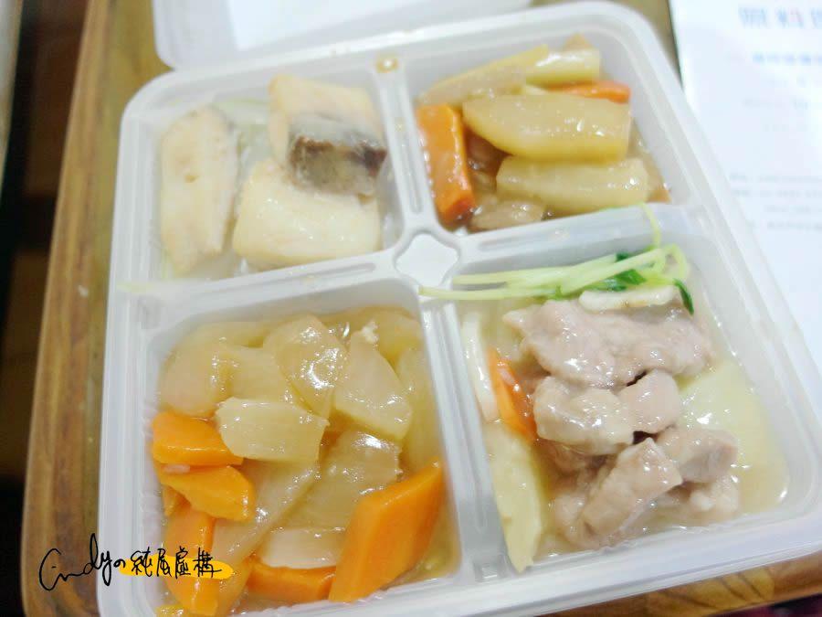 照料理健康餐盒