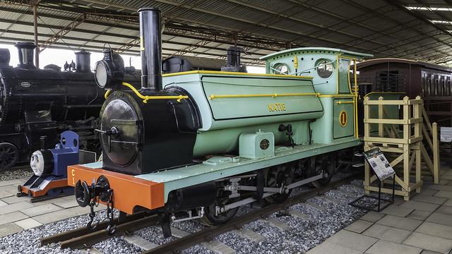 WAGR Steam Locomotive C1 named Katie - built 1880 - see below
