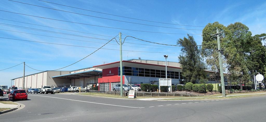 NSW Rural Fire Servies, Lamb St, Glendenning, Sydney, NSW.
