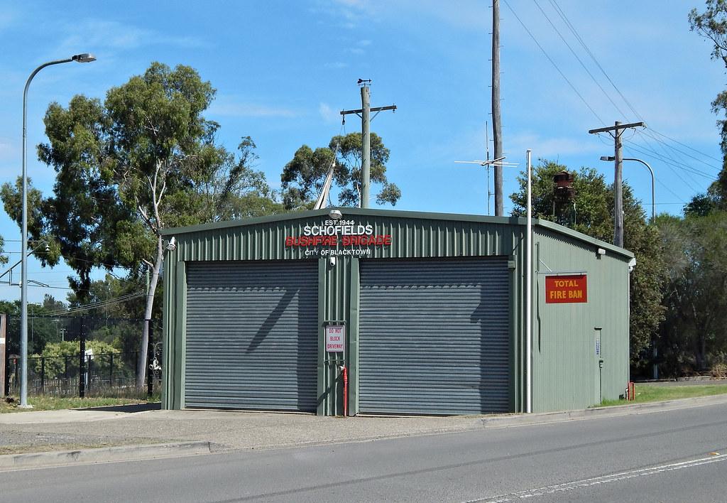 Bush Fire Brigade, Schofields, Sydney, NSW.