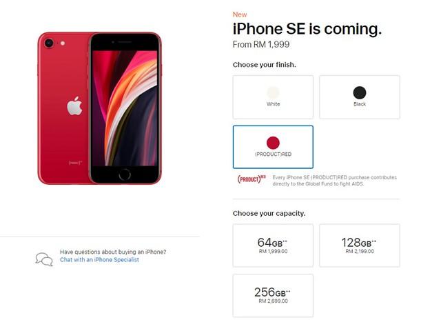 iPhone SE (2020) Bakal Dijual Dengan Harga Serendah RM1,699