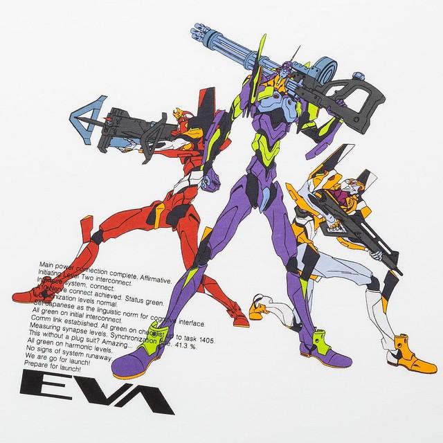 終於輪到EVA粉了!苦等8年!《新世紀福音戰士:3.0 + 1.0》劇場版加入最新UT聯名系列