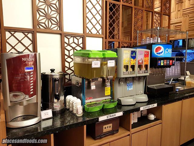 shaburi and kintan buffet bandung soft drinks
