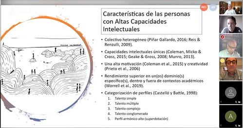 Conferencia sobre Altas Capacidades de Lucía Barrenetxea