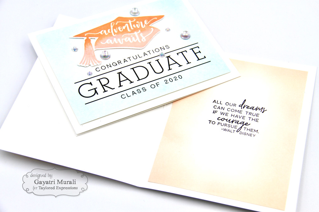 Gayatri Flip the Script Grad card #1 inside