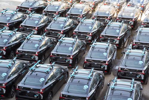 Gig Cars Awaiting Deployment