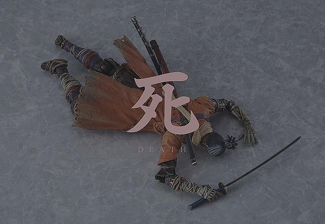 經典死亡場景也高度還原!figma《隻狼:暗影雙死》「隻狼」可動模型 普通版 / DX 豪華版