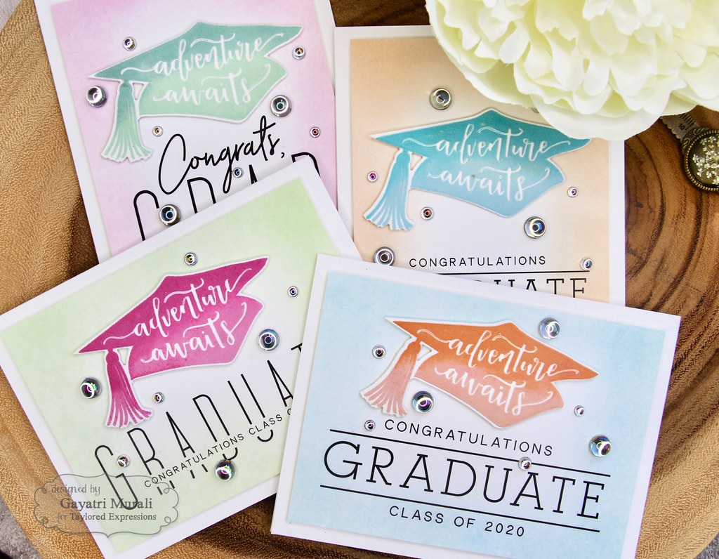 Gayatri Flip the Script Grad card set