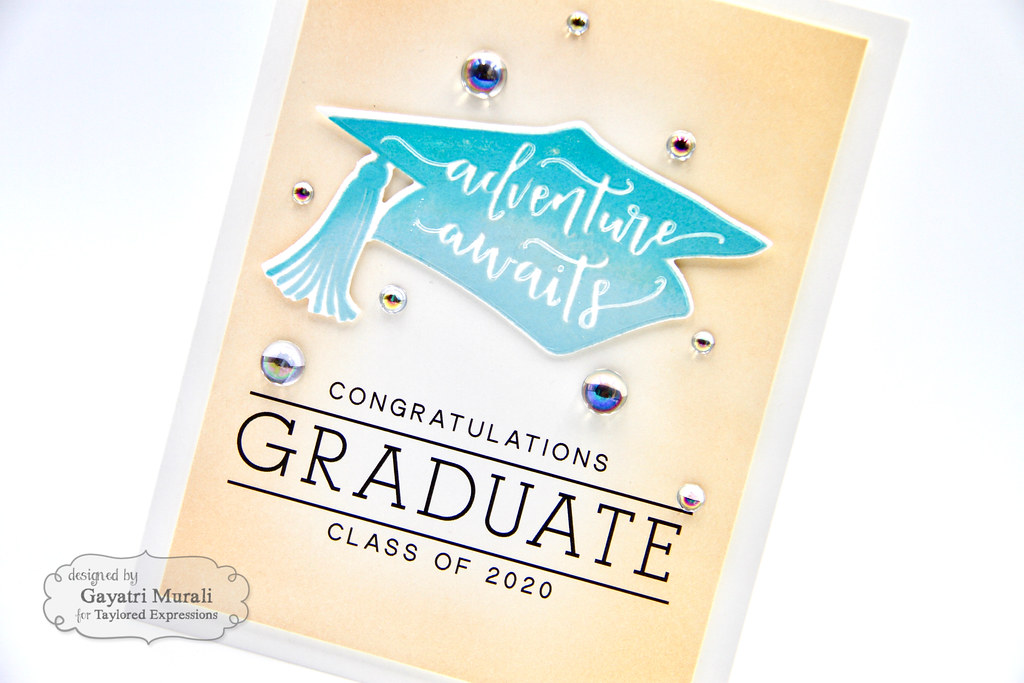 Gayatri Flip the Script Grad card #1 closeup
