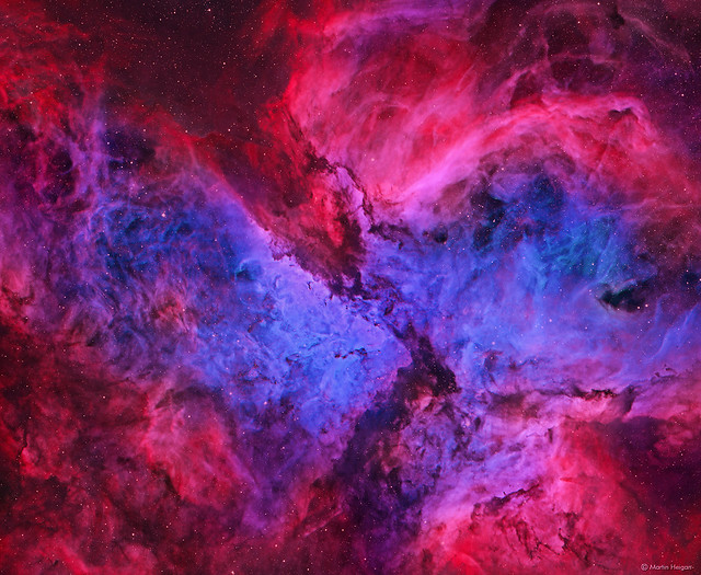 The Carina Nebula (NGC 3372)
