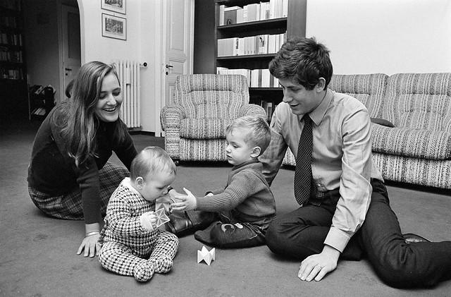 My family long time ago (1975, January)
