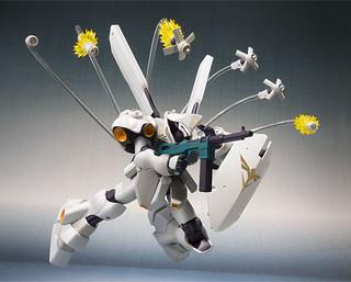 ROBOT魂 《機動戰士鋼彈 逆襲的夏亞 貝托蒂嘉的子嗣 》MSN-03-2 腦波傳導型德卡(サイコ・ドーガ)【PB限定】