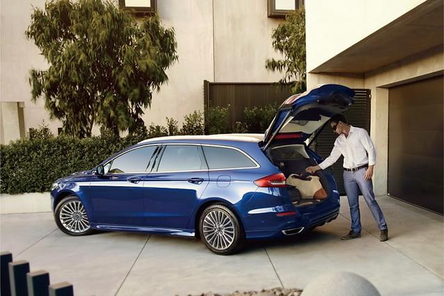 【圖三】2020年式New Ford Mondeo Wagon可將行李箱置物空間從500L延伸最大至1,605L