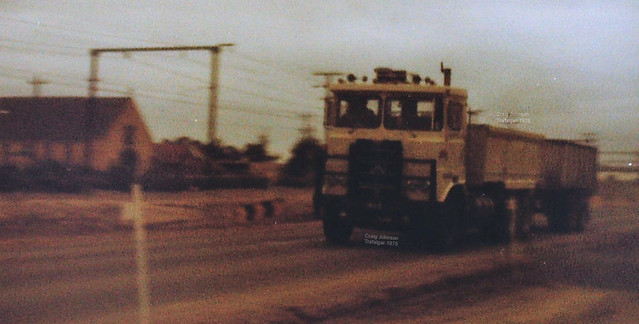 Atkinson Tipper on the Westbound at Trafalgar=1978