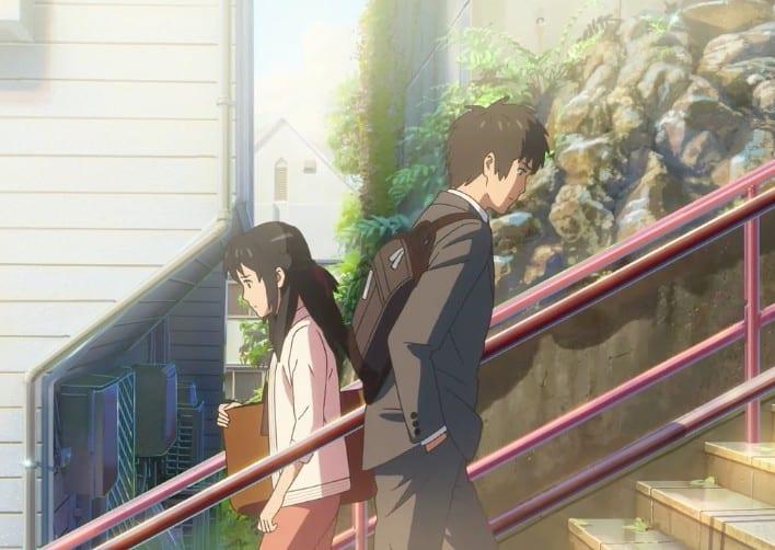 Taki_Mitsuha_red_stairs_Tokyo_Yotsuya_Your_Name