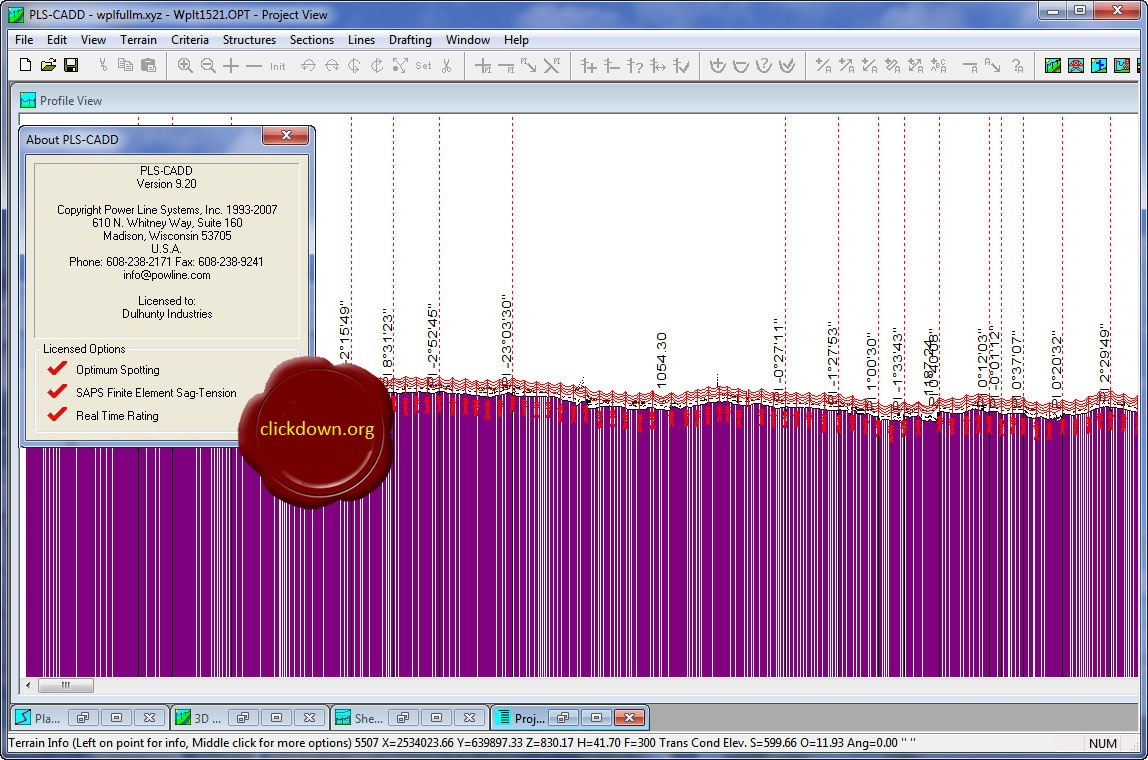 Working with PLS-CADD POLE SAPS TOWER v9.20 full license