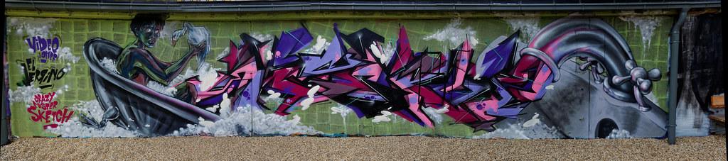 Graffiti 2017 in Wien