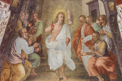 The Risen Christ appears to his Apostles