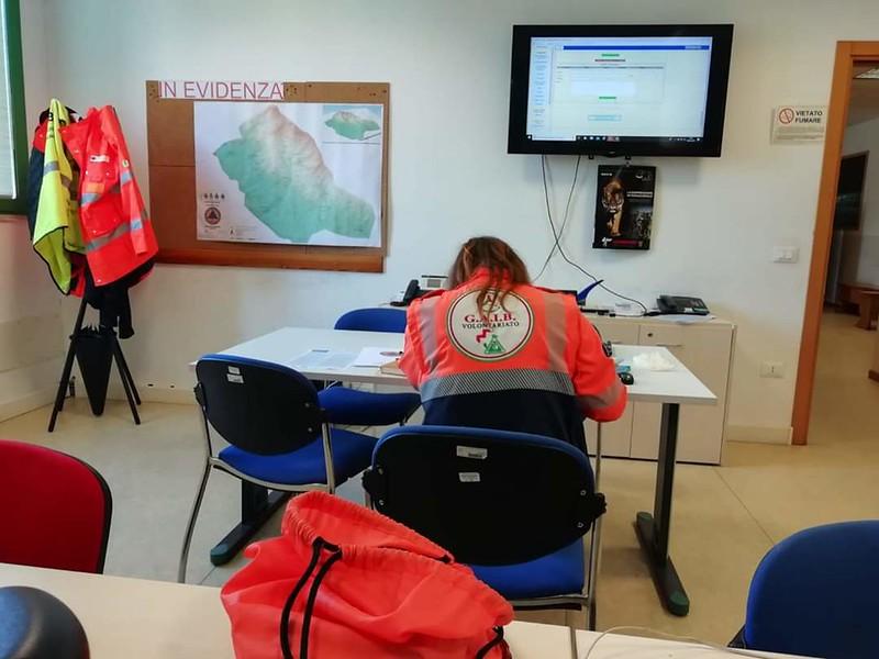 Attività di protezione civile Anpas